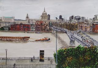 The Thames from the Tate 2012. Brian Pieper