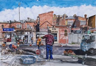 Behind the Shops, the Workers, Coburg 2019. Brian Pieper